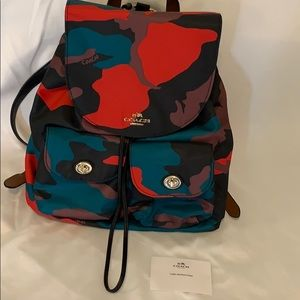 LMTD COACH CAMO backpack